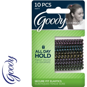 GOODY 06975 SLIDE-PROOF 4MM X 10